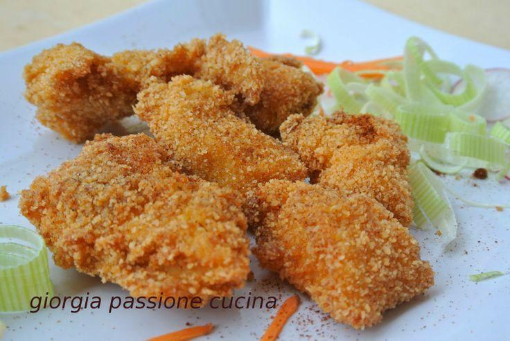 #giorgiapassionecucina gustosi #bocconcini di #pollo con panatura alla #paprika