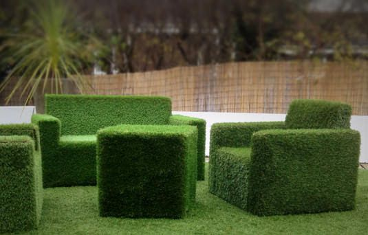Erbotto: l'arredo in erba sintetica per il tuo spazio relax