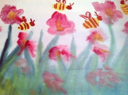 Waldorf ~ 5th grade ~ Botany ~ watercolor painting