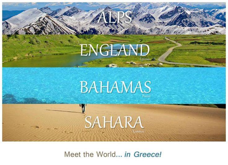 Meet the world...in Greece!