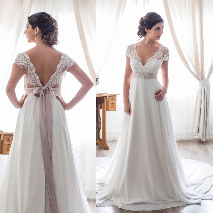 Vestido de novia corte imperio · Empire Waist Wedding Dresses