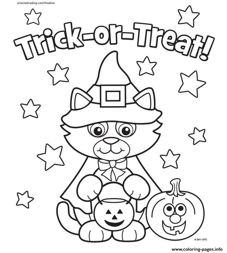 18 best Halloween Coloring Pages images on Pinterest | Halloween ...