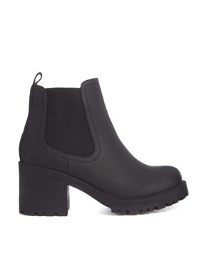 New Look - Chewy - Bottines chelsea à gros talons - Noir
