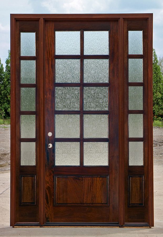 Rain Glass Doors 10 Lite With Sidelights Jpg 620 900 Pixels French Doors Exterior Rain Glass Front Door Entry Doors