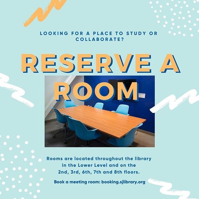 Looking For A Place To Collaborate On Campus Look No Further Sjsu Library Has 39 Open Meeting Rooms Available For Booking R Meeting Room Library Study Rooms