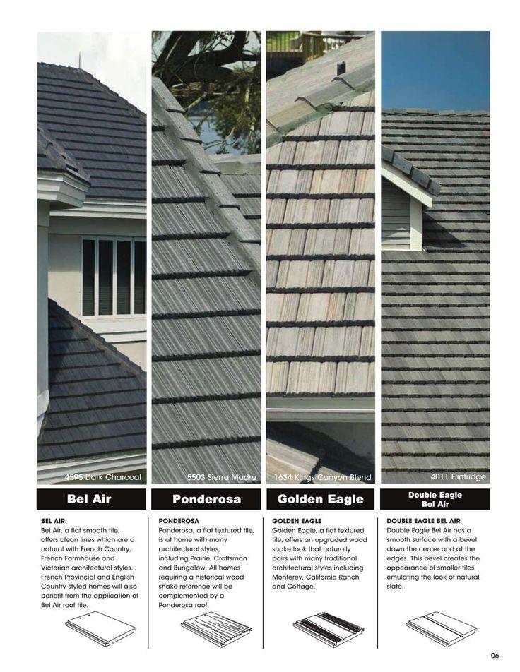 13 Best Ponderosa Concrete Roofing Tiles Images On