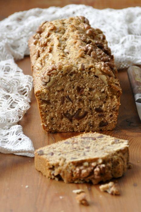 Cake dattes noix epices