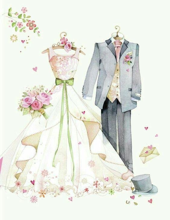 свадебный наряд