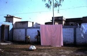 Washing the turban in India