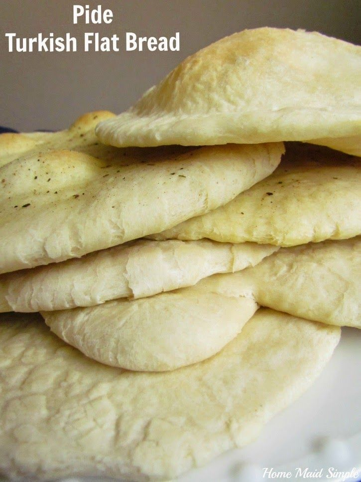 Pide: Turkish Flatbread - Home Maid Simple