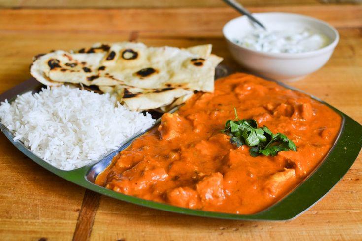 Kuřecí tikka masala, indické placky a rajta | S vášní pro jídlo... | Bloglovin'