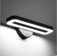 Arandelas de parede Simples e Moderno LEVOU Lâmpada de Parede Luminária Arandela Luminárias Luzes Do Banheiro Espelho de Luz Lamparas De Pared(China (Mainland))