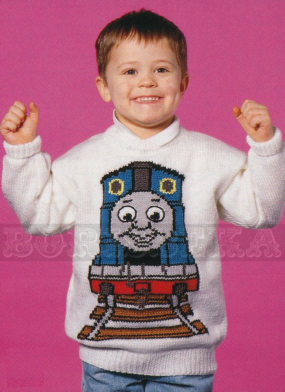 Hey, I found this really awesome Etsy listing at https://www.etsy.com/listing/155648286/vintage-thomas-the-tank-engine-jumper