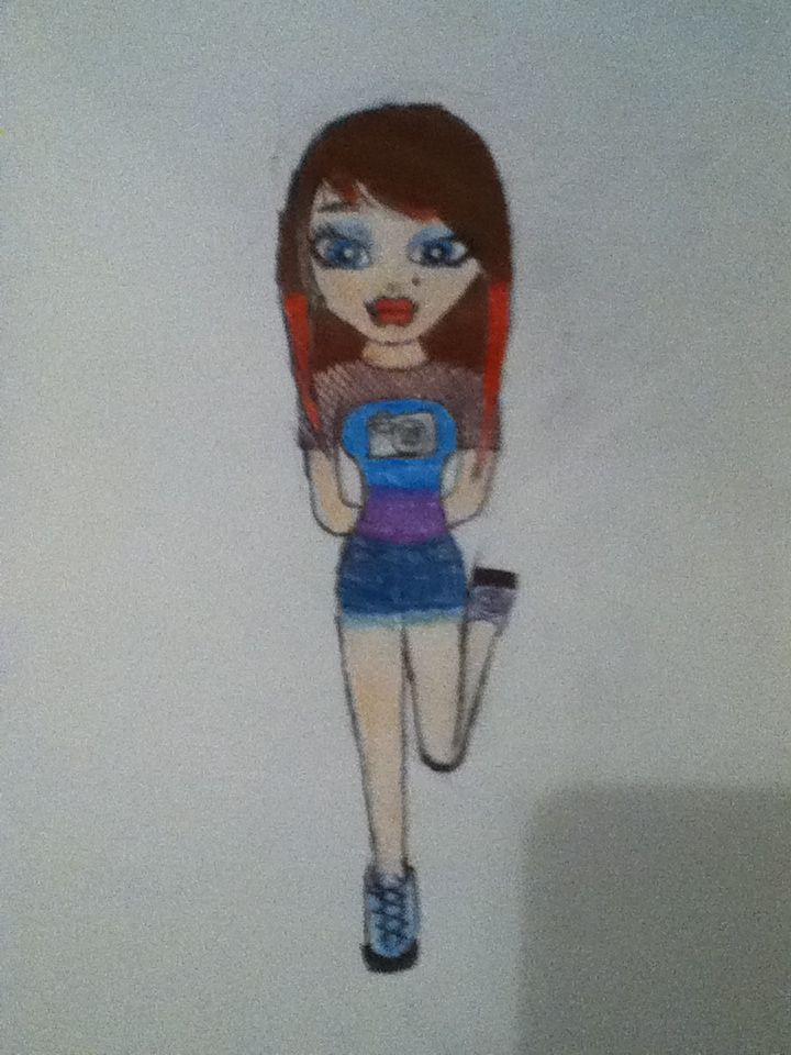 just a drawing of a bratz that I made myself