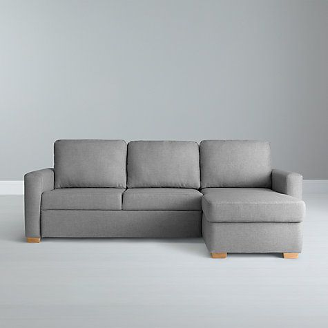 Buy john lewis sacha large sofa bed with foam mattress light leg erin grey from our sofas sofa beds range at john lewis
