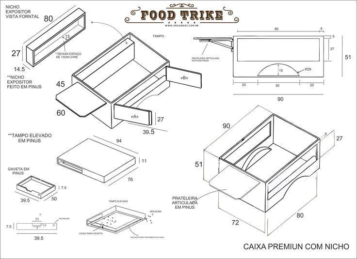 Resultado de imagem para projetos de bike food