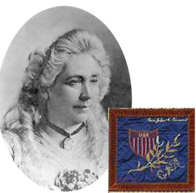 Jessie Benton Fremont. The Generals' Wives' Quilt. Collection: Ohio Historical Society.