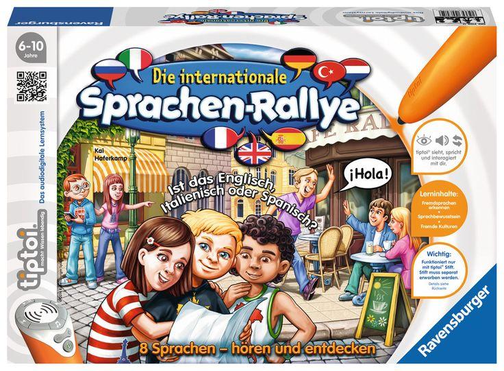 tiptoi® Die internationale Sprachen-Rallye | Entdecken und Wissen | Spiele | tiptoi® Bücher, Spiele und Spielzeug | DE | tiptoi® Die internationale Sprachen-Rallye