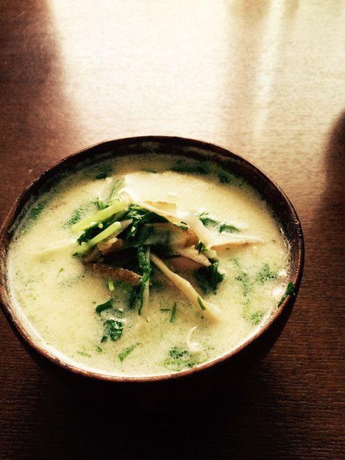 内側から基礎代謝アップで-5Kg♡痩せ体質を作るデトックススープ6選 ... ⑥豆乳とごぼうのデトックススープ