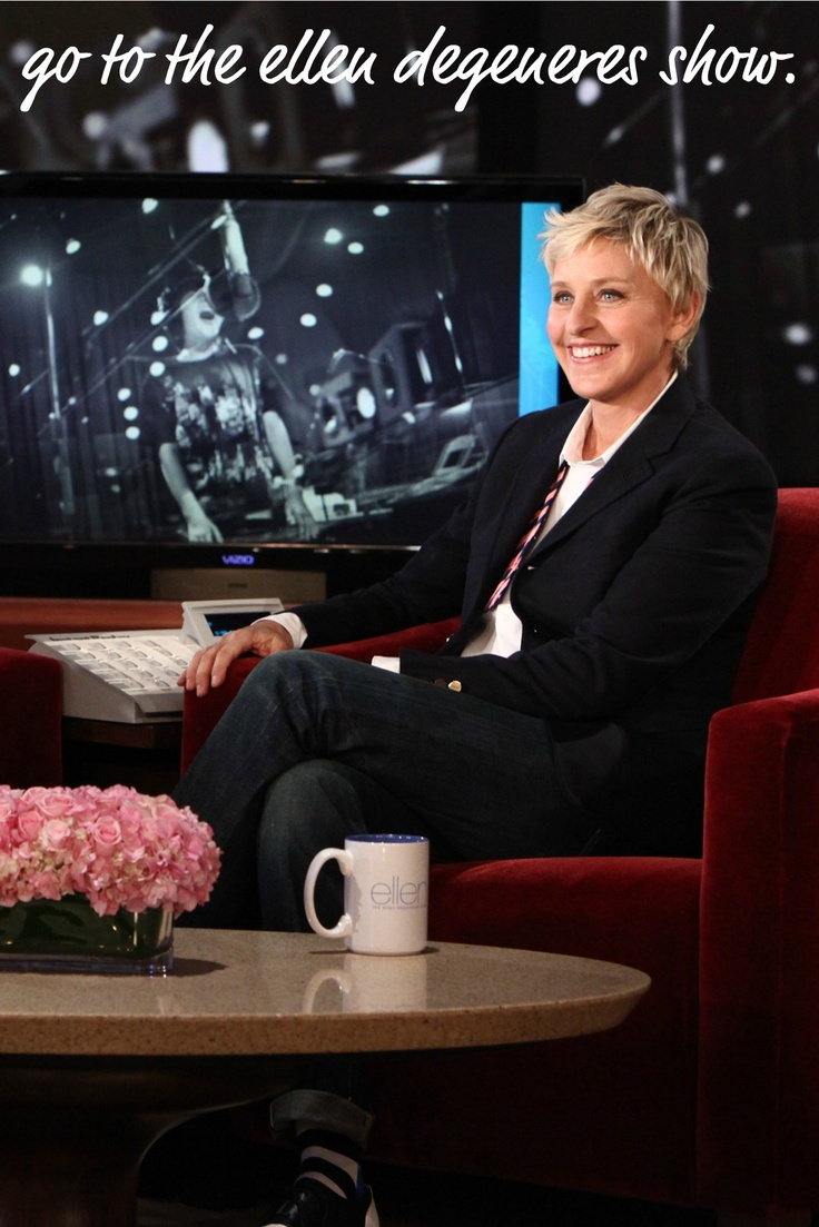 ellen degeneres i can do it You can contact ellen degeneres via her website, if you want ellen to know about your story, you should goto her website and fill out the necessary details and if you are lucky enough, you will receive an email or call from ellen's staff there are different categories on ellen's site, choose.