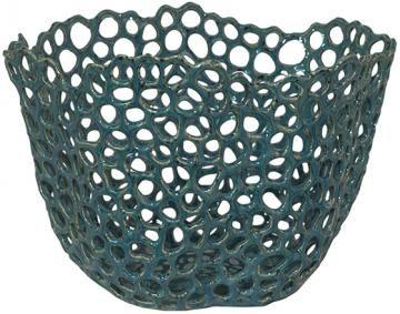 Seaport Ceramic Bowl - Blue Bowl - Decorative Bowls - Ceramic Bowls | HomeDecorators.com
