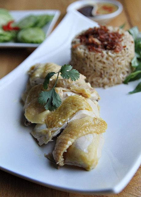 Hainan Chicken Rice Com Ga Hai Nam from @Kim and Hong