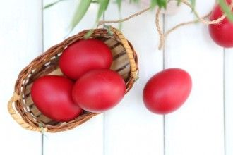 Why Do We Dye Eggs Red for Easter