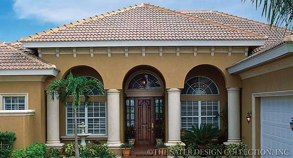 Kinsey House Plan | Beautiful house plans, Mediterranean