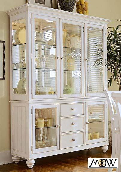 Luxury Corner China Cabinets and Hutches