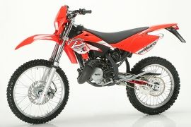 SPECIFICATION OF BETA RR Enduro 50 2004