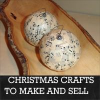 ideas for Christmas crafts to make and sell  rustic-crafts.com