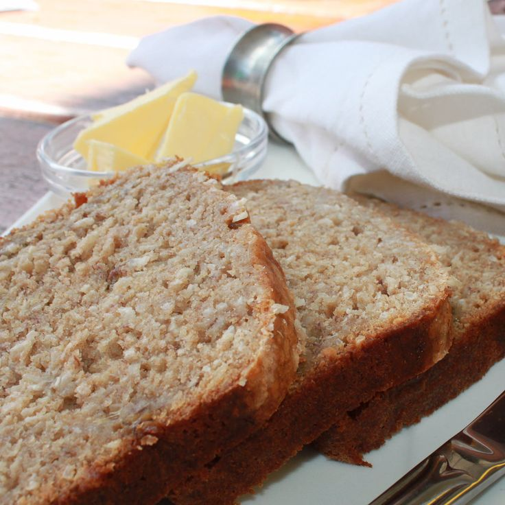 Banana and Coconut Bread — alyce alexandra