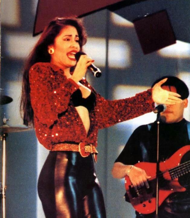 Selena Quintanilla Black Boots