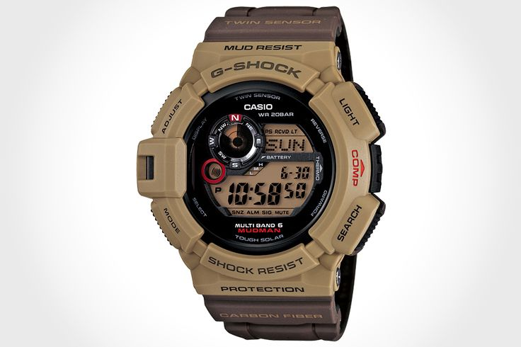 CASIO GW-9300ER-5JF Mudman G-SHOCK. a year on after the first Mudman, comes another that has a colorway that befit its namesake. nice? we think so.