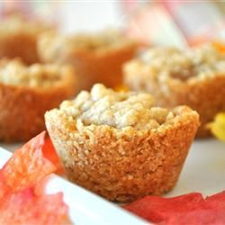 Krokante mini-appeltaartjes @ allrecipes.nl