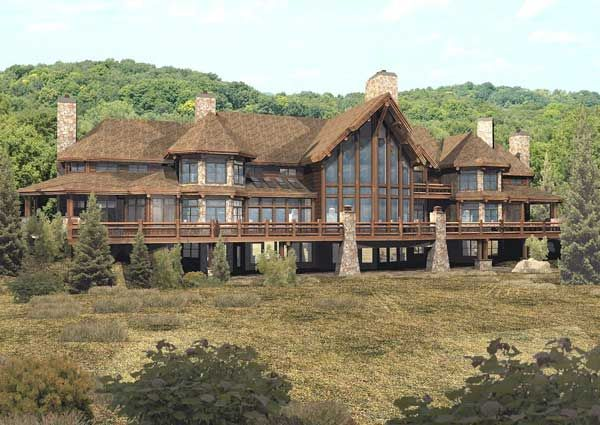 Pendleton Estate Luxury Floor Plan By Wisconsin Log Homes Luxury Floor Plans Log Home Floor Plans Luxury Log Cabins
