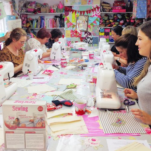 #Learn to #Sew and Make your Mother Proud #courses at The Gilliangladrag Fluff-a-torium #sewing #sew #learntosew #gilliangladrag #fluffatorium #dorking
