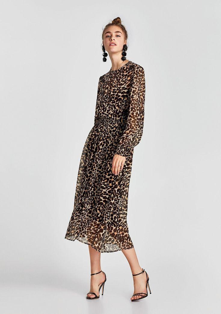 Zara Usa Leopard Print Clothes Fashionactivation Leapord Print Dress Print Clothes Animal Print Dresses