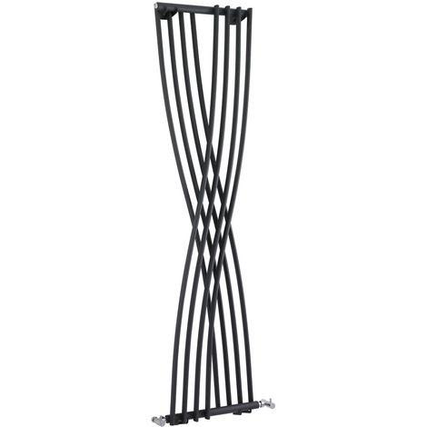 Design Heizkörper Vertikal Einlagig Anthrazit 1775mm x 450mm 925W - Xcite