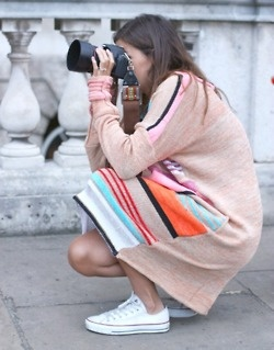 ..Fashion, Convers Style, Sweater Dresses, Convers Shoes, Sweaters Dresses, Street Style, Colors, Stripes Sweaters, Cameras Straps