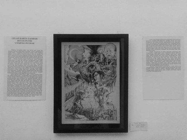 """COLAB ART By 5 Tukang Gambar Buta Warna""  OPENING Today... 19.00 WIB @bentarabudayabalaisoedjatmoko"
