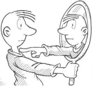"""""""Una persona tiene derecho a conocer su pasado para defender su identidad"""". Todos temos un carácter, unha identidade emocional que se forma a través das nosas vivencias e a través do noso entorno, pero cando falamos de identidade profesional solo estamos nos ante un espello como sucede na imaxe. O feito de estudar publicidade e RRPP da unha idea do que me gusta, a creatividade e a forma de poder manipular os consumidores pero o longo da carreira estou descubrindo novos ámbitos moi…"""