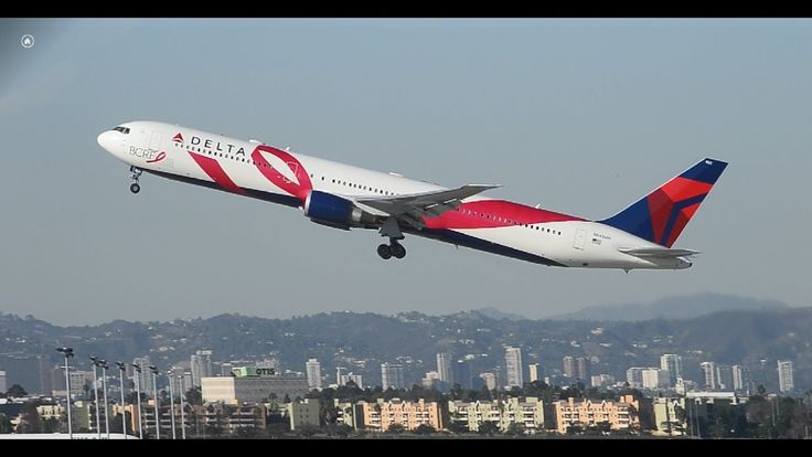 Rare!!! Delta Airlines Boeing 767-400ER [N845MH] (Breast Cancer ...