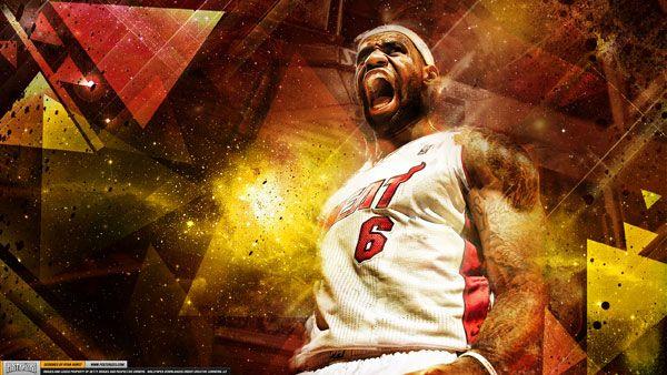 LeBron James – 'Golden Season' (WALLPAPER)