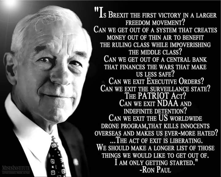 Ron Paul Ladies and Gentlemen!!!!!