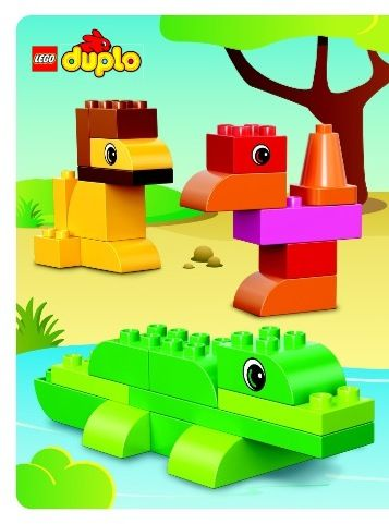 mega bloks giraffe instructions