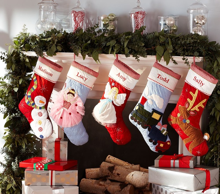 pottery barn stockings for the home pinterest. Black Bedroom Furniture Sets. Home Design Ideas