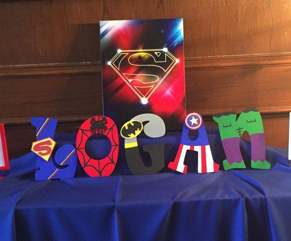 Lettres de super-héros