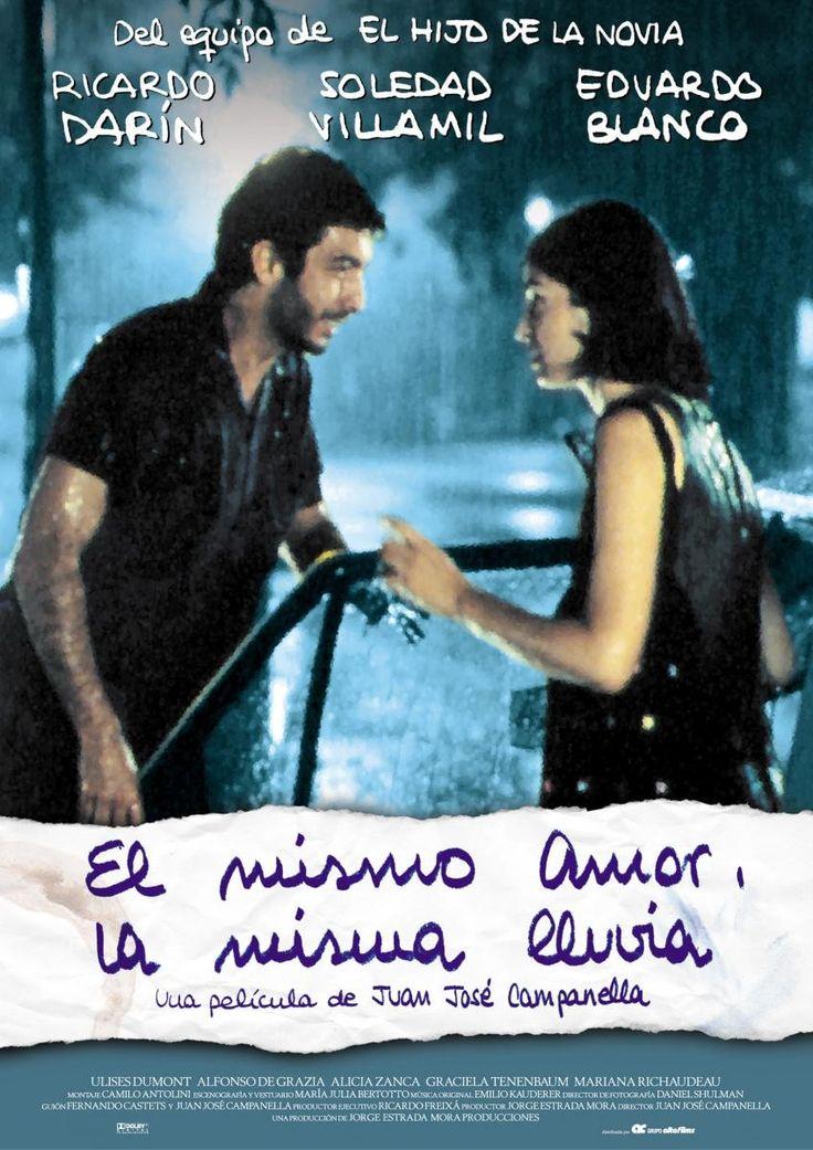 El mismo amor, la misma lluvia [Vídeo (DVD)] / una película de Juan José Campanella