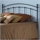 Fashion Bed Group Sanford Metal King Headboard in Matte Black Finish - B42446: Dreams Bedrooms, 3Rd Bedrooms, Sanford Metals, Metals Headboards, Bedrooms Furniture, Guest Rooms, Bedrooms Inspiration, Bedrooms Decor, Bedrooms Ideas
